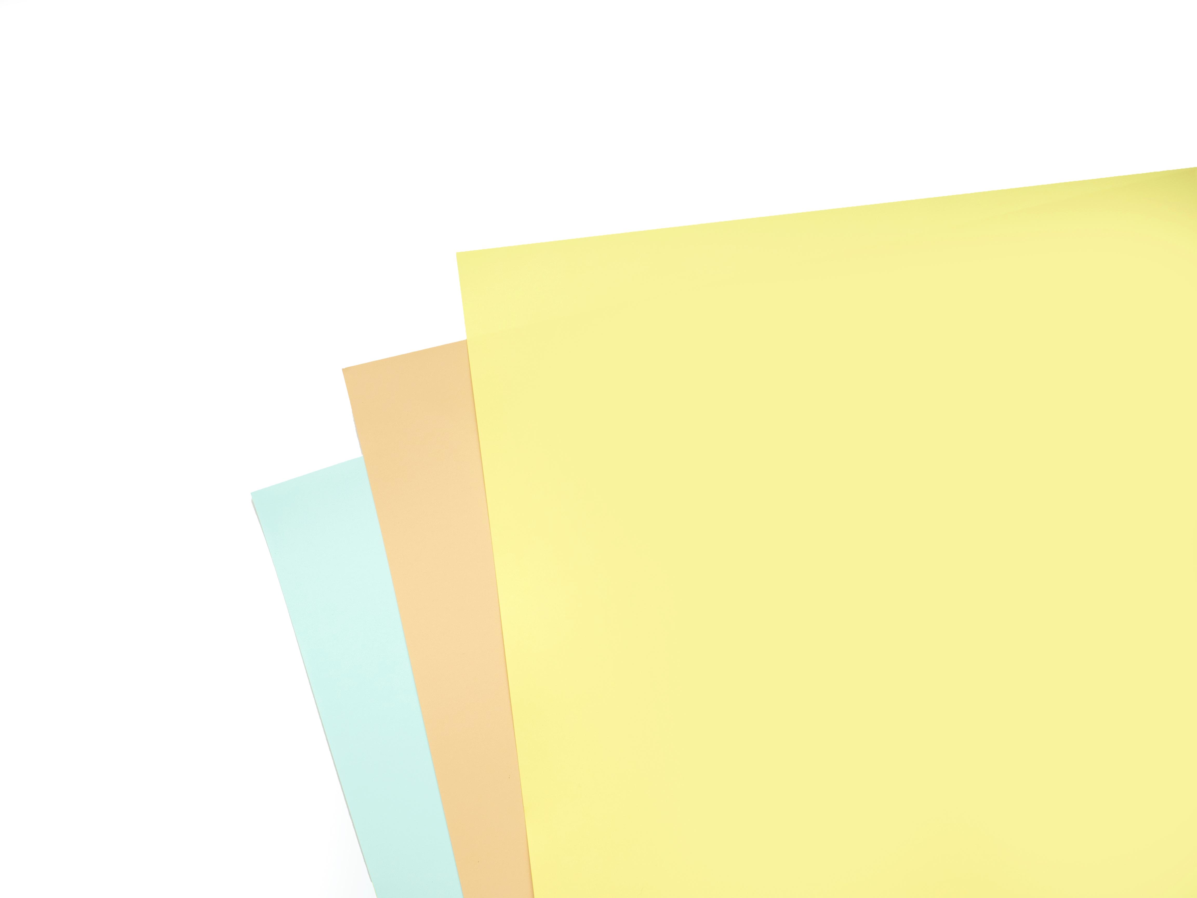 撮影用の背景紙「フルーティーカラーセット」A3サイズ 販売開始