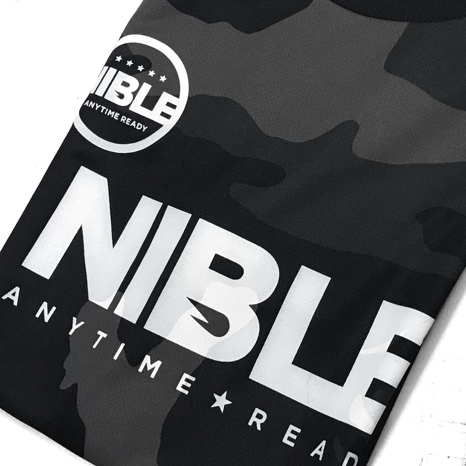 普段着として着れるカモ柄サッカーウェア「NIBLE」夏の新作を追加