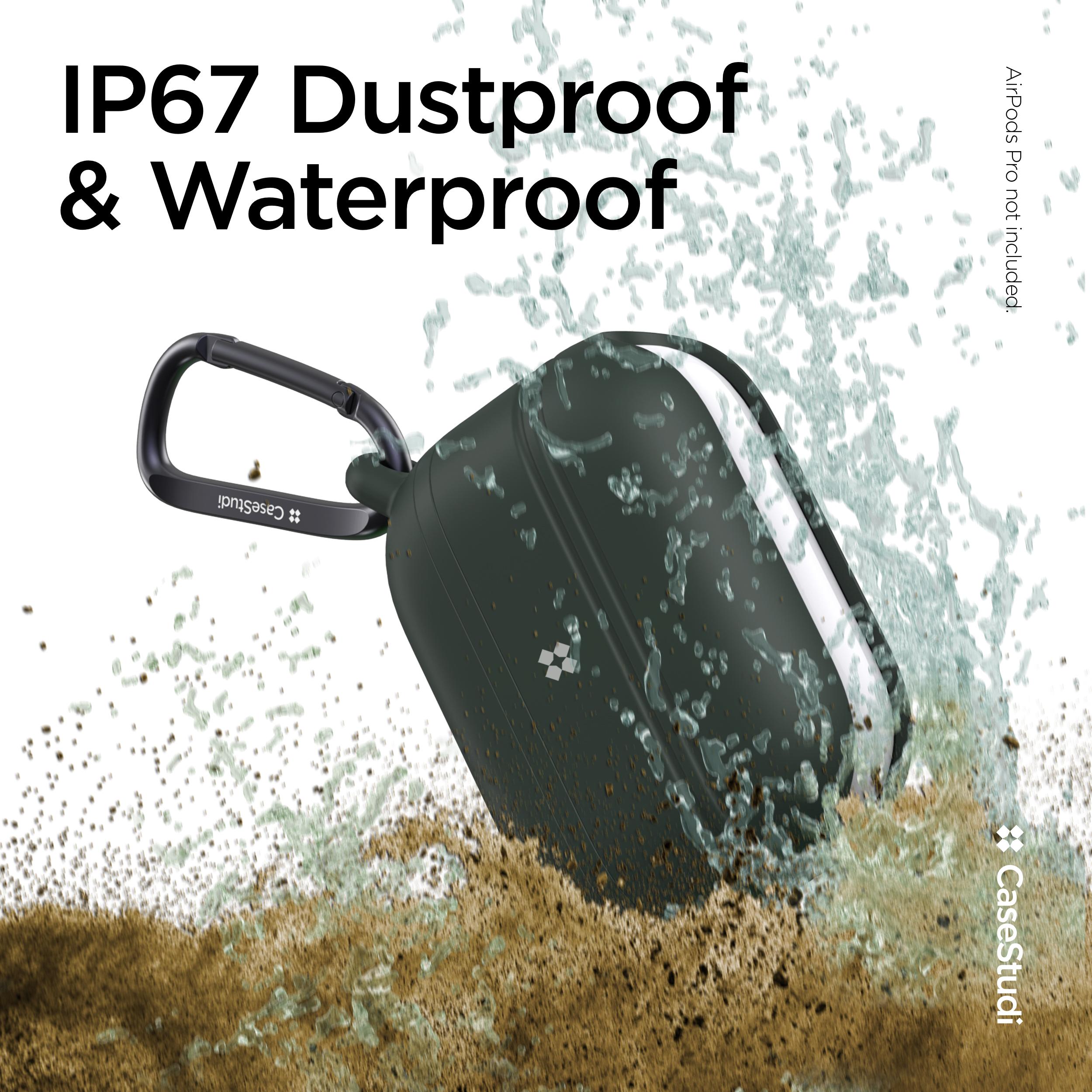 【守ります!!】IP67取得!耐水・防塵 AirPodsProケース!!