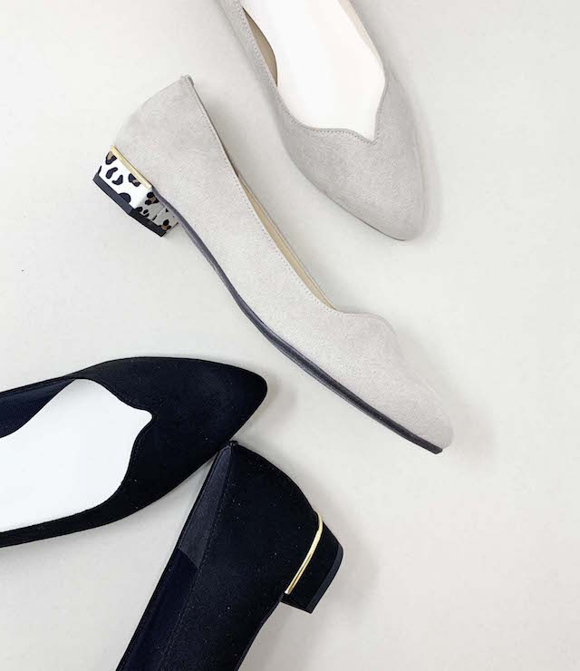 <POMFLEUR>シンプルでフェミニン!履きやすいのに美見えの毎日履きたくなるパンプス。