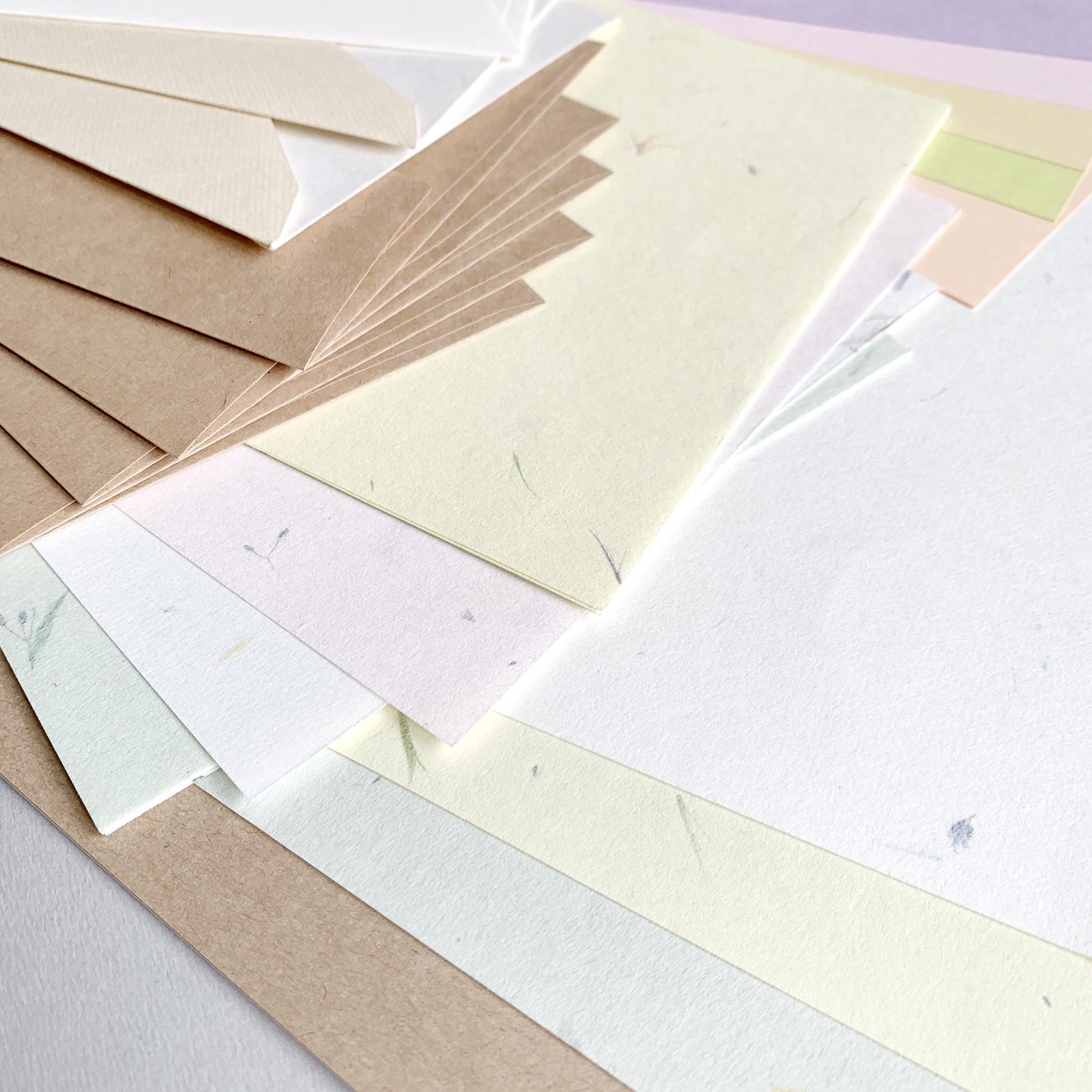 可愛くて、素敵な紙、いろいろ詰め込みました。 Papier Assort~パピエ・アソート~