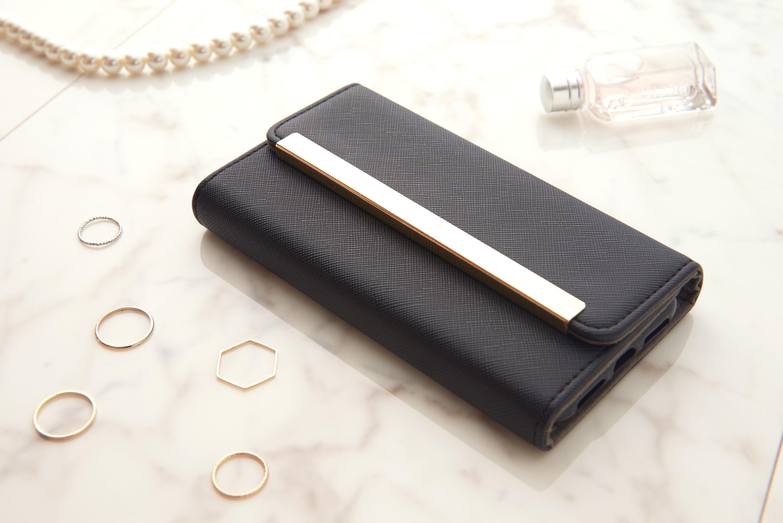ビジネス女子を応援♪大人カジュアルな手帳型iphoneケース♡