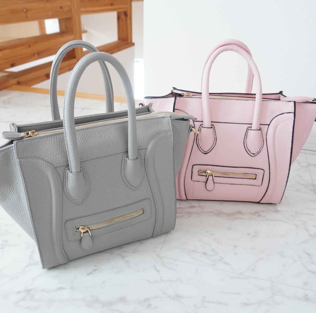 春先取り♡シンプルで使いやすいベビーカラーバッグ