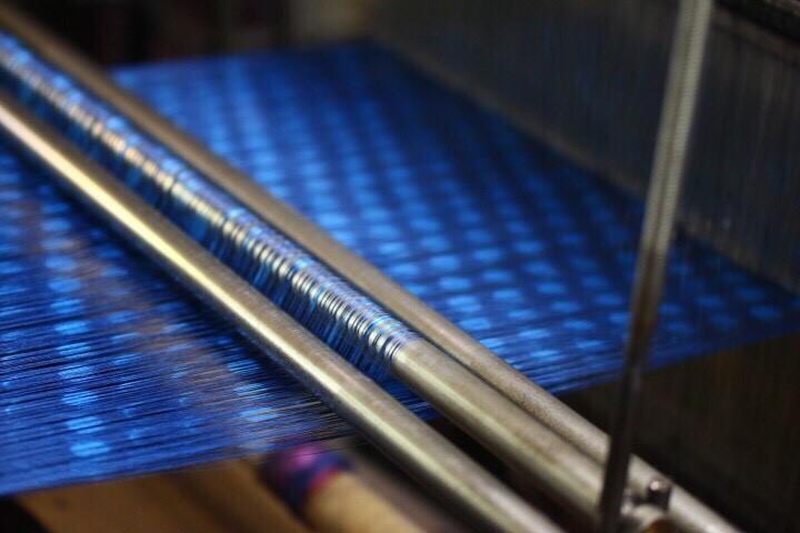 ほぐし織りのストール 珍しい技法『ほぐし織り』って何?