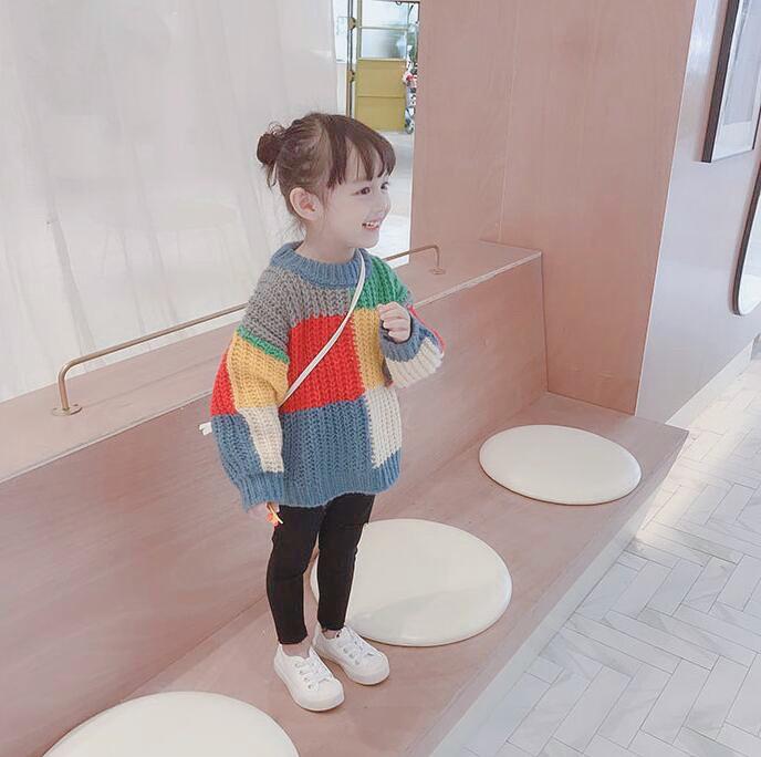 韓国子供服 送料無料 ブリックスセーター