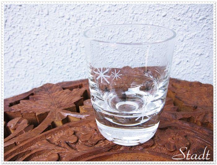 X'masの冬の季節に雪の結晶のショットグラスはいかがですか?
