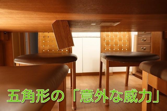 TV番組でも話題に!テーブルや机の裏に付けられる五角形の不思議なティッシュボックスケース。