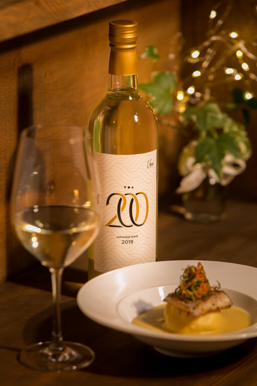湯浅ワイナリー初のワインです