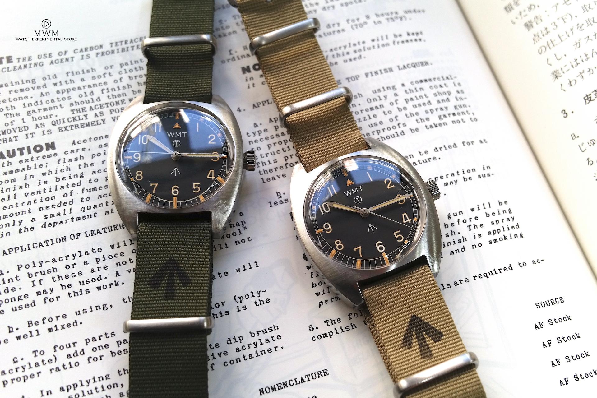 1970年代のイギリス軍用時計が、現代の技術で蘇る:WMT Milspec-W20