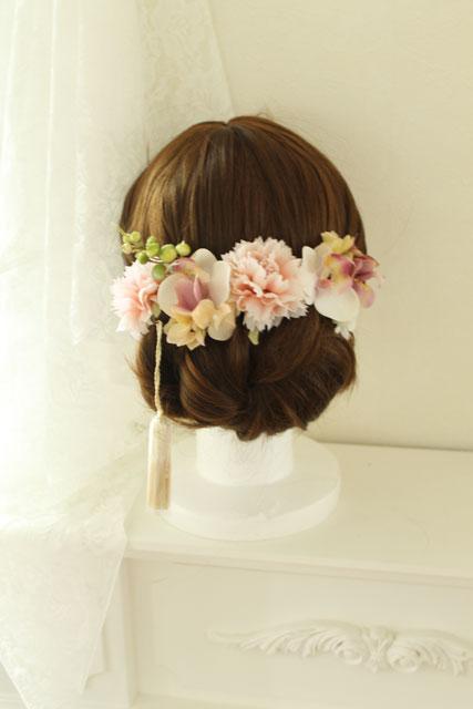 卒業式の袴スタイルをさらに可愛く華やかにするハンドメイドの髪飾り