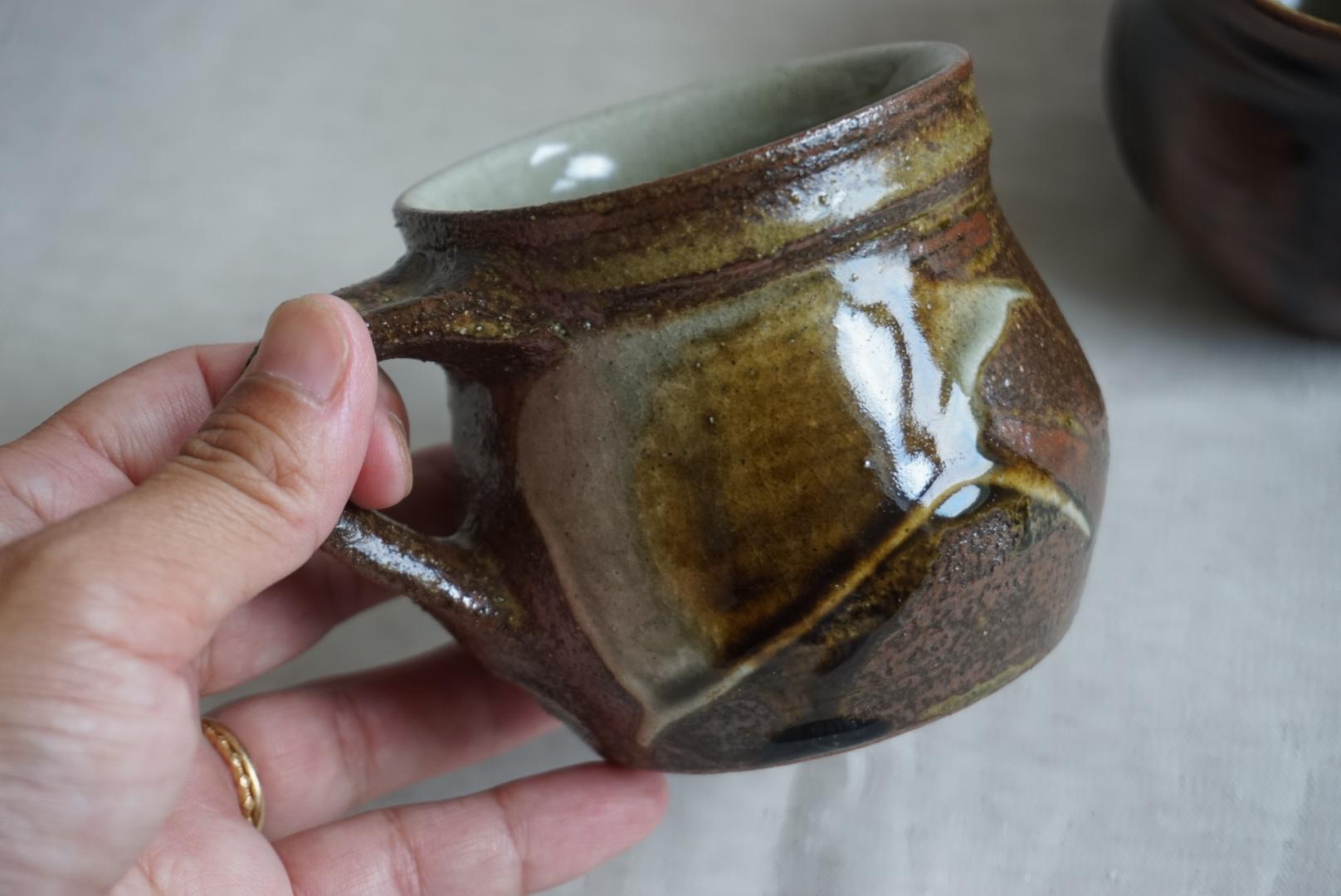 穂生窯(ほなりがま)リーチ型マグカップ