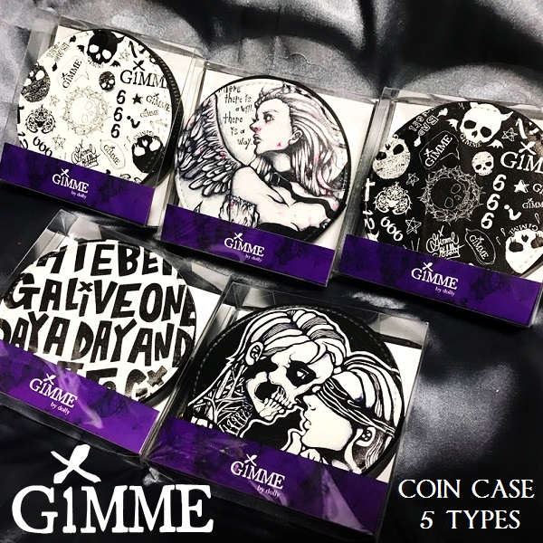 『GiMME / ギミー』新作コインケース5品番入荷!!
