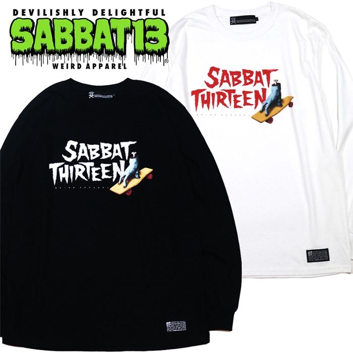 「SABBAT13 / サバトサーティーン」新作「SKATE HAND L/S T」入荷!!
