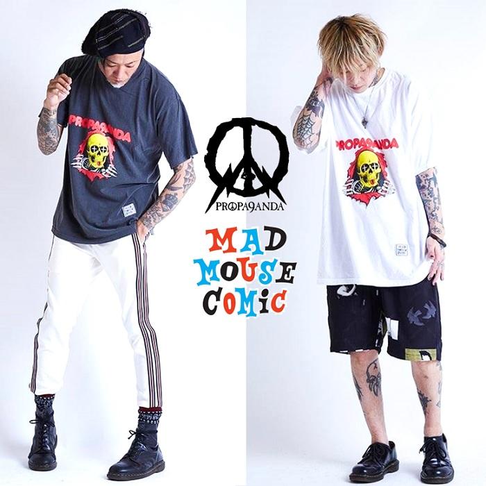 『ROPA9ANDA × MAD MOUSE COMIC』限定コラボTシャツ入荷!!