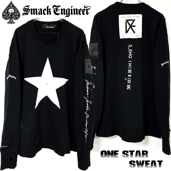 「SMACK ENGINEER / スマックエンジニア」新作「ONE STAR SWEAT」入荷!!