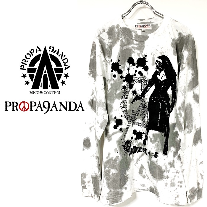 『PROPA9ANDA / プロパガンダ』新作『SAINT AVENGER L/S TEE』入荷!!