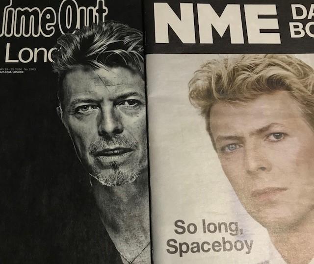 David BowieのNMEとTimeOut