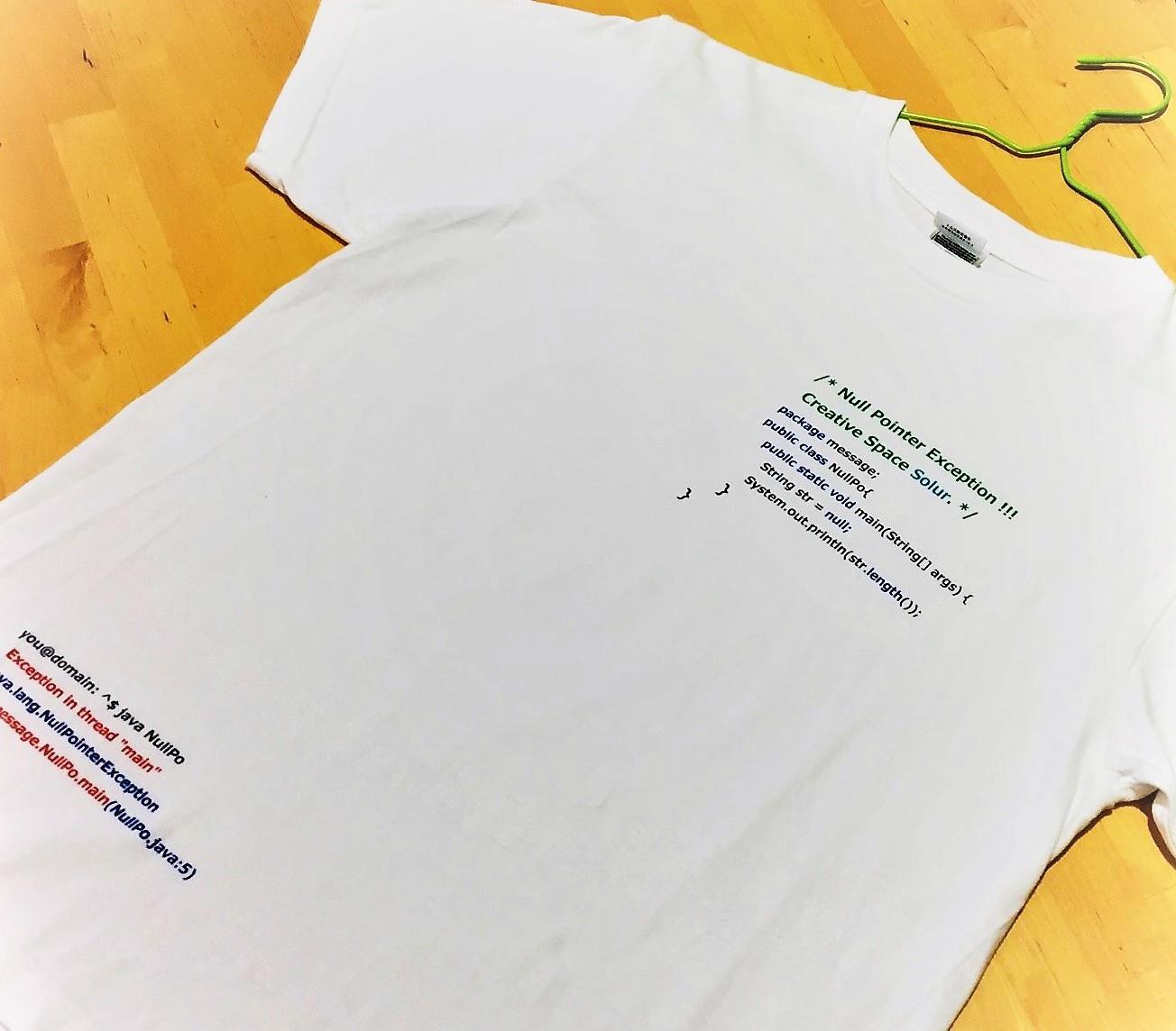 知的?面白い?プログラミングTシャツ