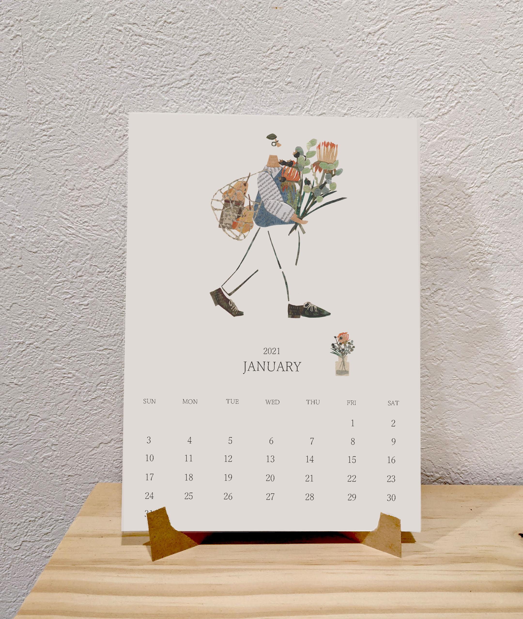 2021年のカレンダーの準備はできていますか?
