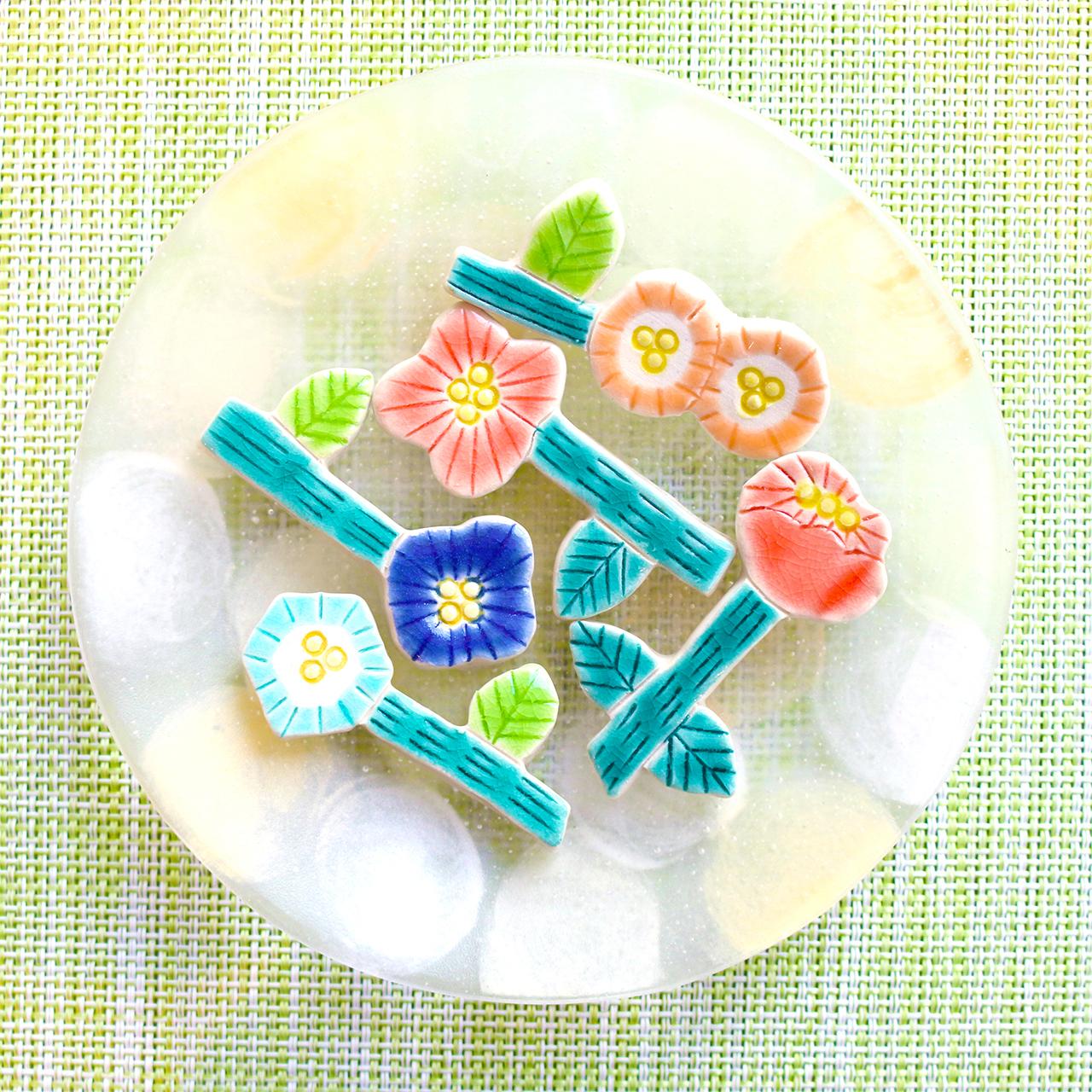 【4月の春特集】お花をモチーフにした可愛い工芸品をご紹介します!
