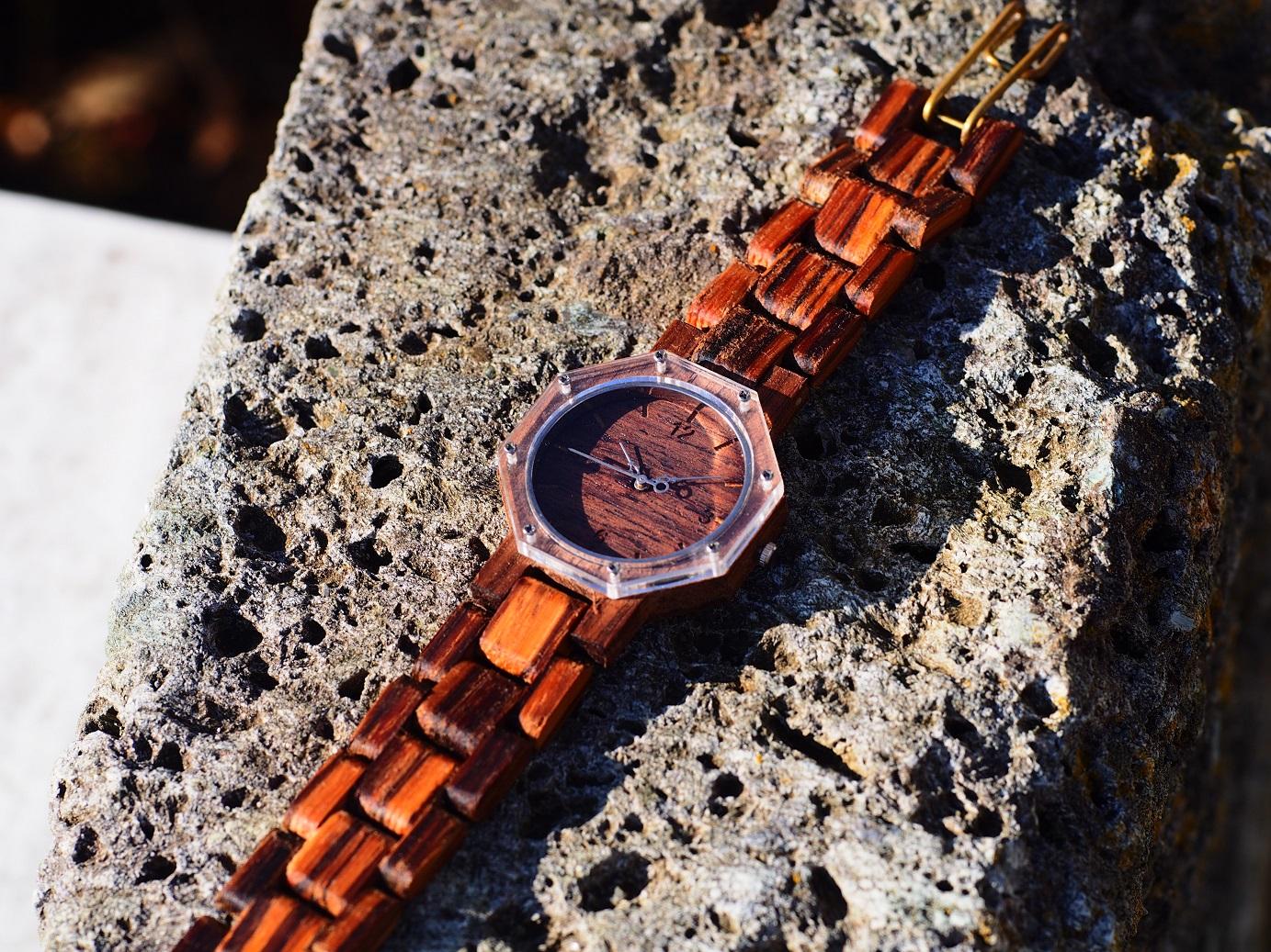 初の試み、風水学でも吉とされる八角形の腕時計