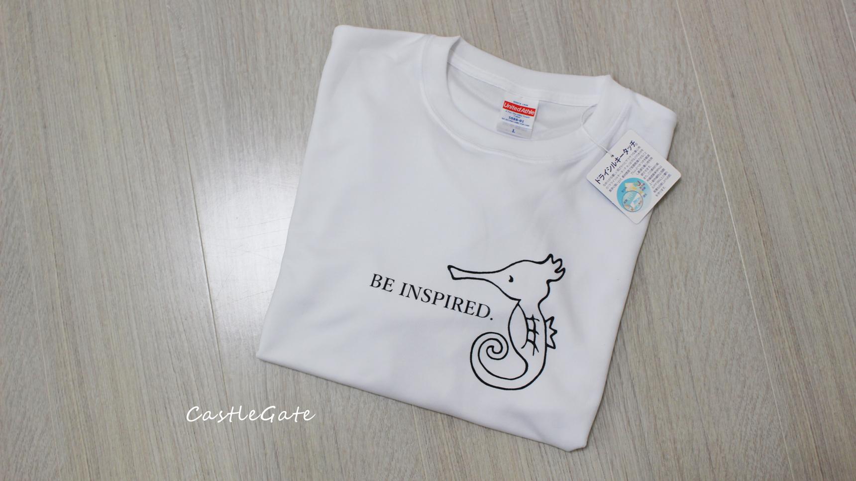 b458628586a53 スポーツの秋に!ダサくない、タツノオトシゴ白Tシャツ。 | BASE Mag.