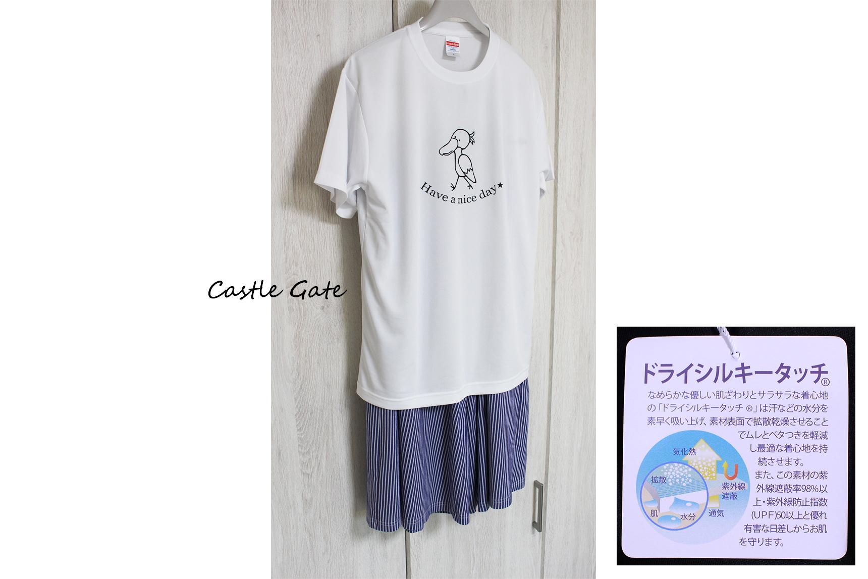 まるでシルクのような着心地!吸汗速乾&UVカットTシャツのご紹介!