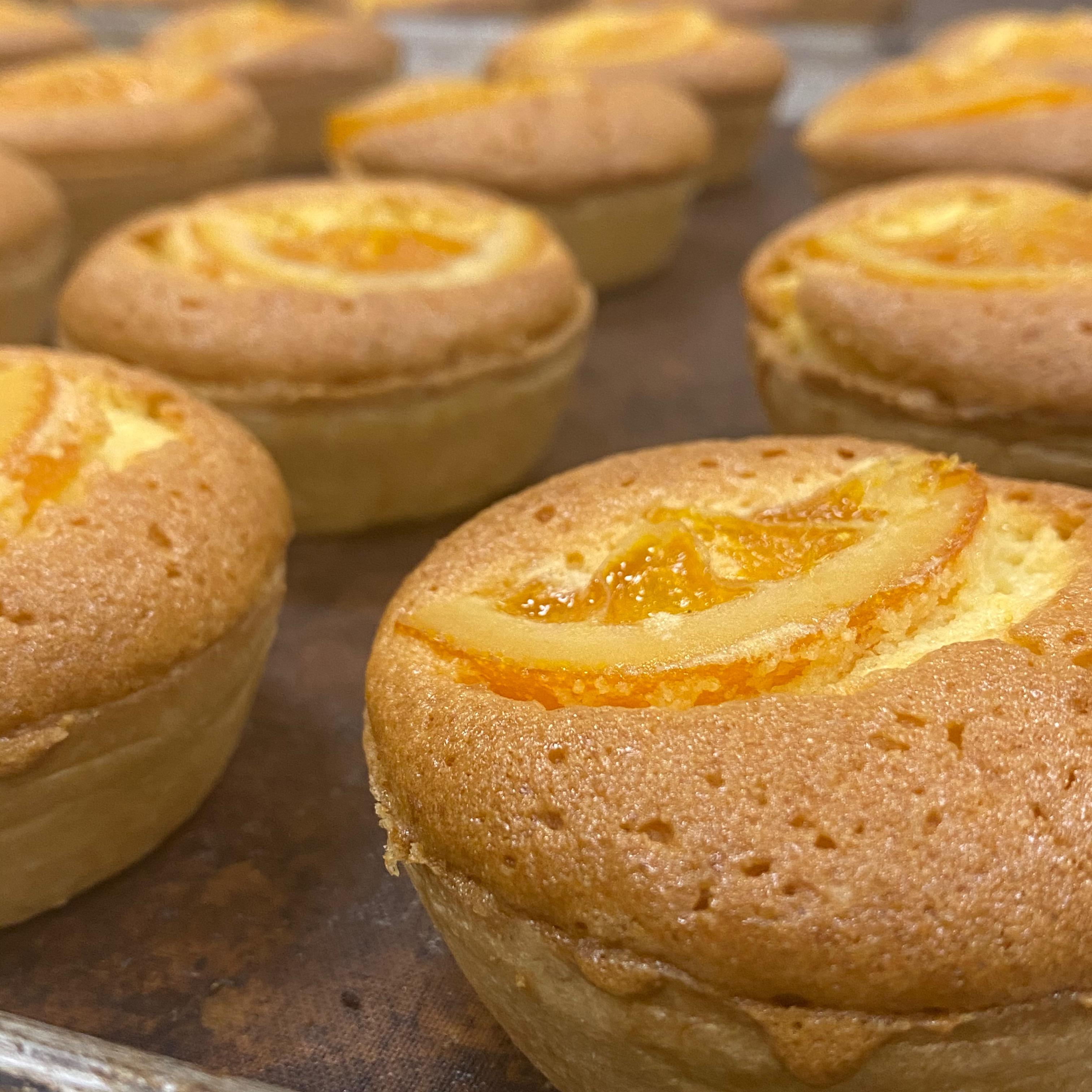 柑橘系タルトの中でも一番人気のオレンジ