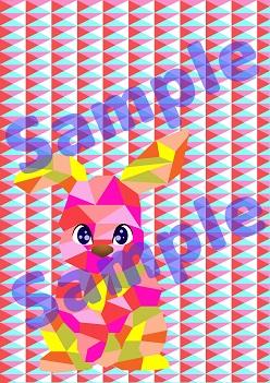 今週の新商品「ピンク・ラビット」などの壁紙イラストを色んな事にご利用下さい!