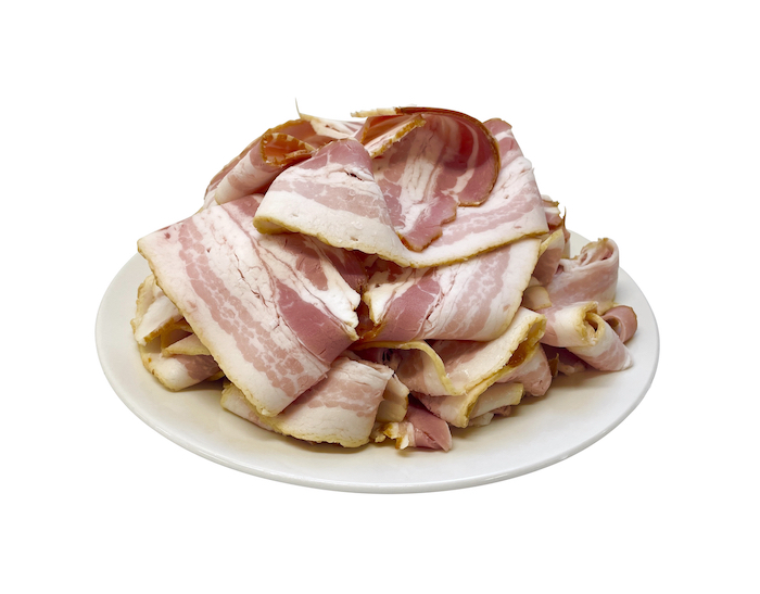 衝撃の67%オフ!!期間限定マンガリッツァ豚のベーコンスライス販売中!
