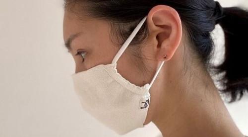 【和紙ニットマスク】寒暖差、新生活疲れなどお肌にでていませんか