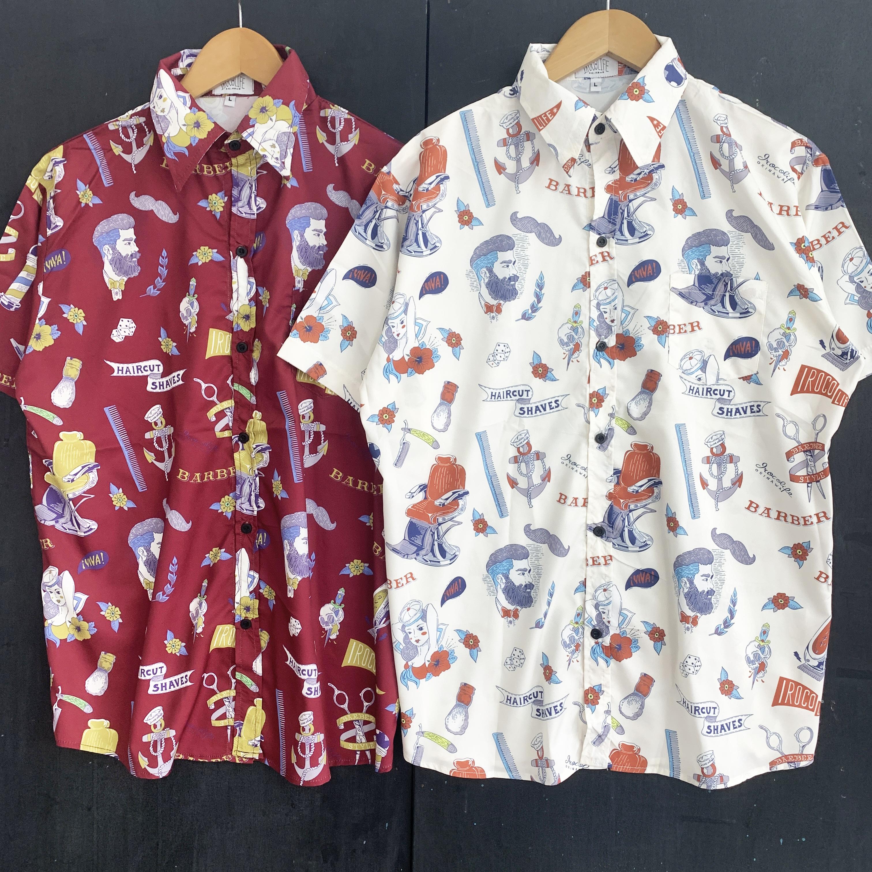 すべてのBARBER好きな人へ贈るシャツ