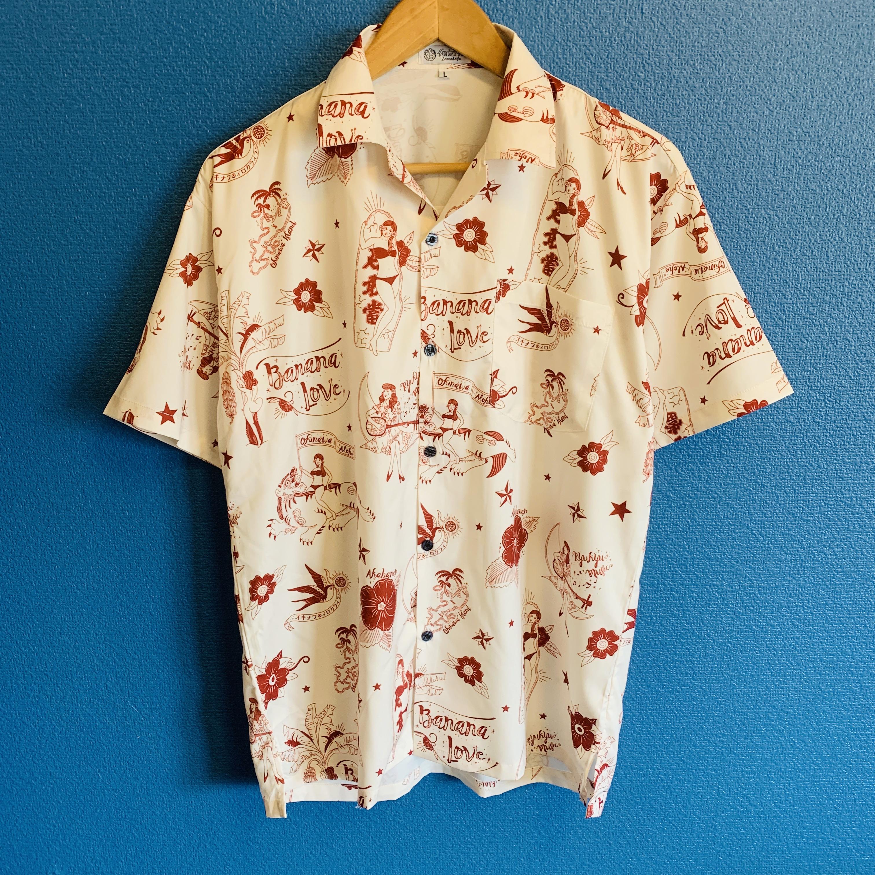 沖縄愛するすべての人のためのアロハシャツ出来ました!!(レディースアロハワンピースもあります!)