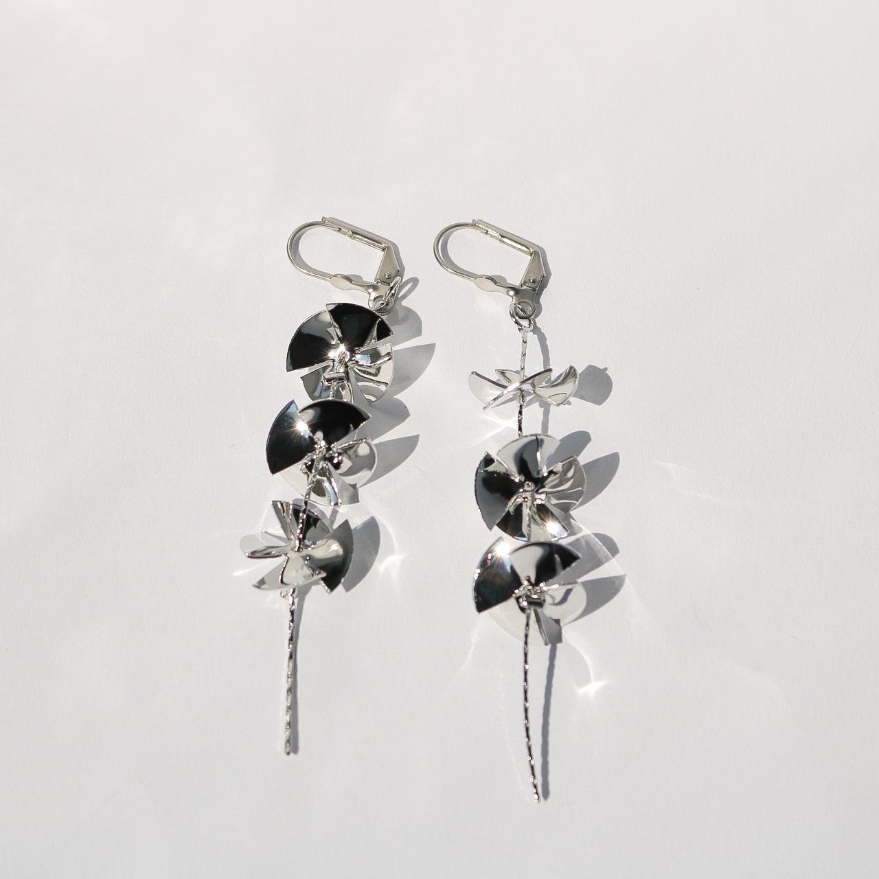 Windmill Pierce/Earring(金属アレルギー対応)