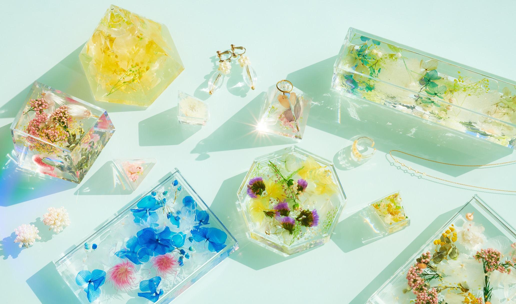 【!!クリアバッグプレゼント企画!!】職人の仕上げたお花のオブジェBLOOM AQUAご紹介