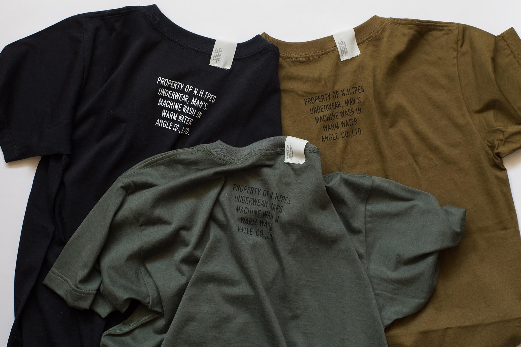 アンダーウェアにはもったいない!デザインの塩梅が絶妙な、<エヌハリウッド>のクルーネックTシャツ