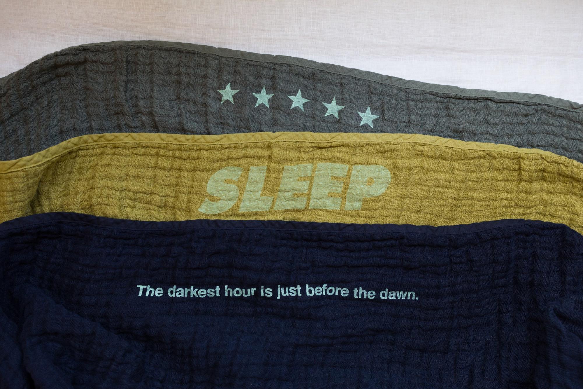 次の再生産が最後のチャンス!今年で終わりとなる眠家のリネン5重ガーゼケット
