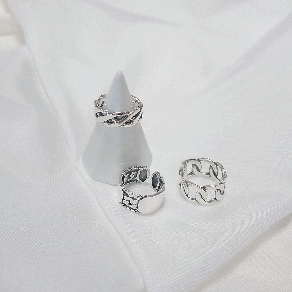 【silver925】メンズライクなデザインシルバーリング✨✨