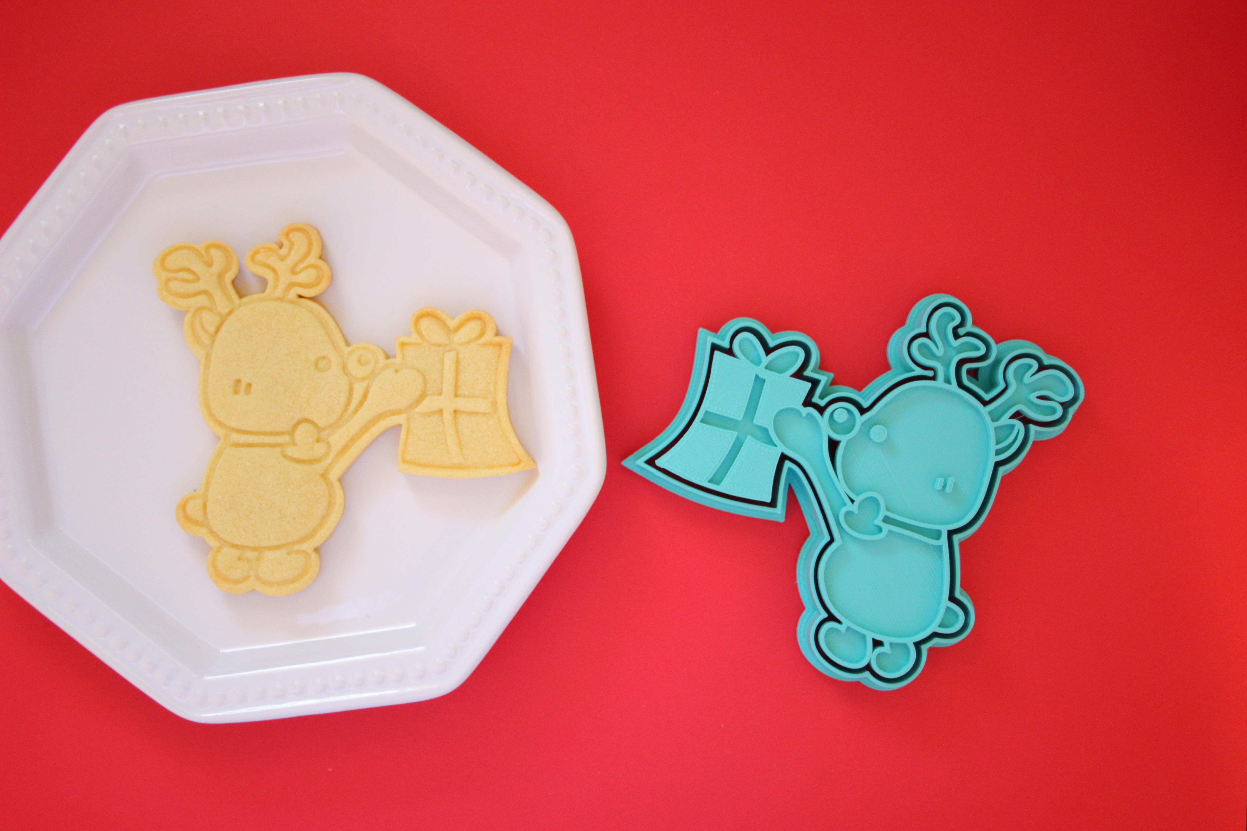 ブレイクタイムに♪ ちょこんとフチクッキーが作れるクッキー型