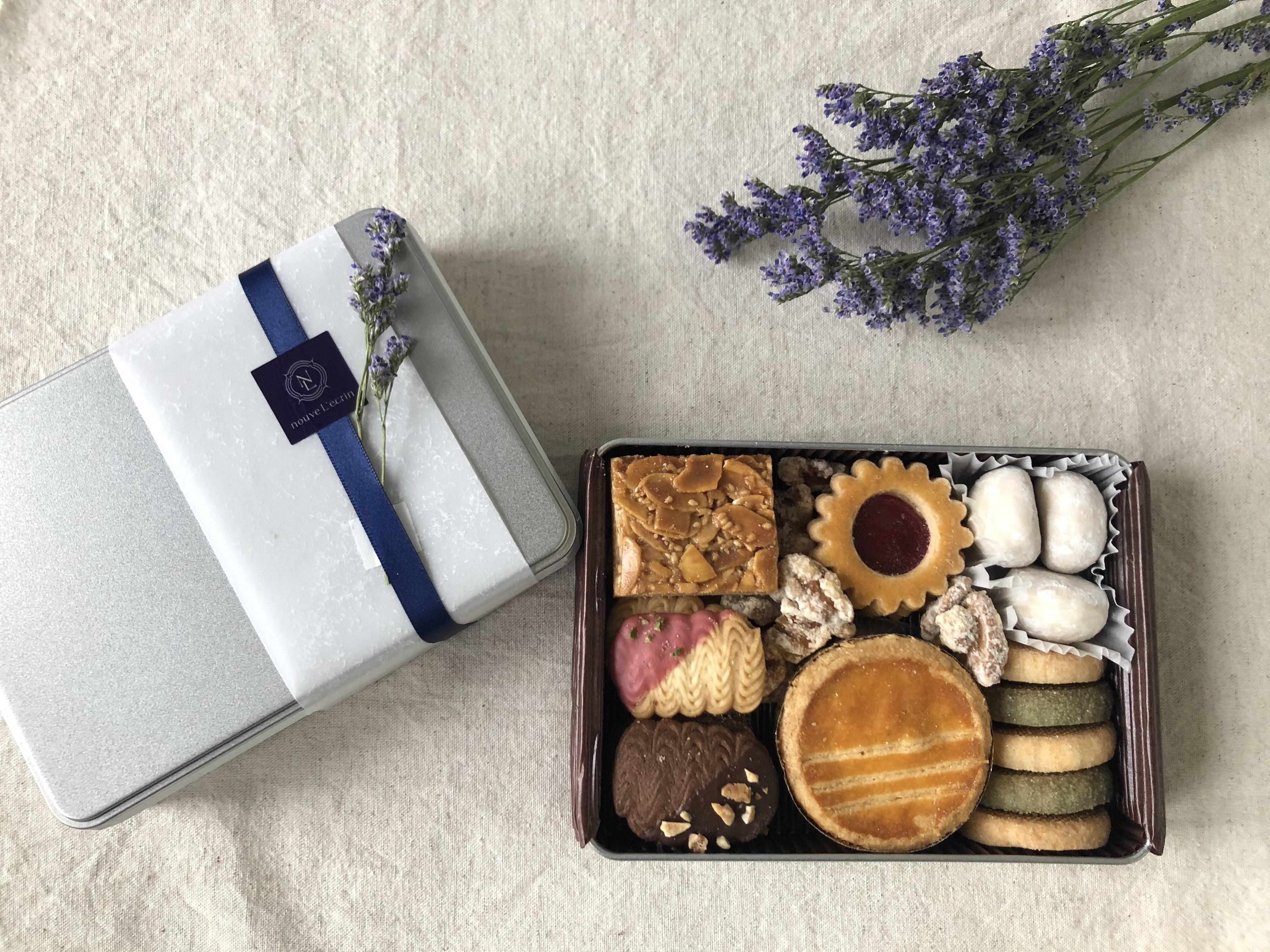 [nouveL'ecrin]可愛いがぎっしり詰まったクッキー缶