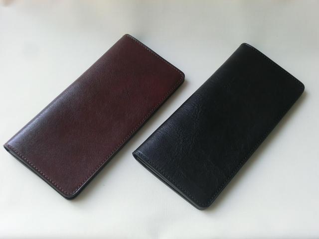 薄くスマートな長財布。ミニマルスタイルのとても使いやすいロングウォレットです!