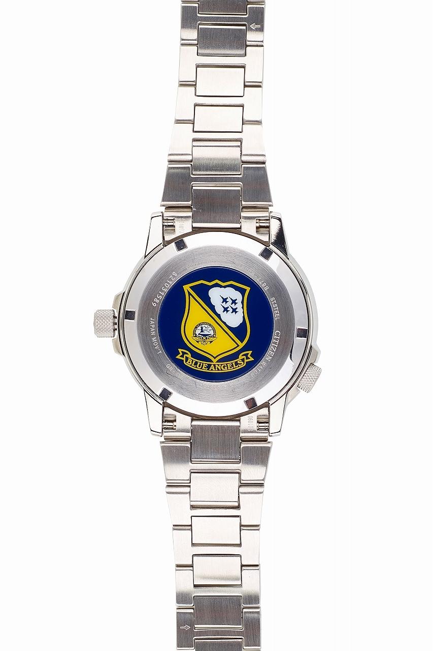 【CITIZEN BJ7006-56L】珍しいブルーエンジェルス公認モデルの腕時計