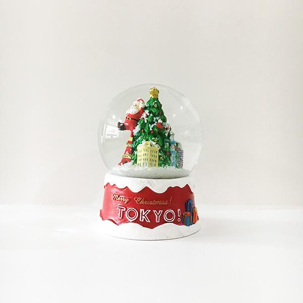年に一度の特別なクリスマススノードーム。第一弾は■メリークリスマス!TOKYO!■