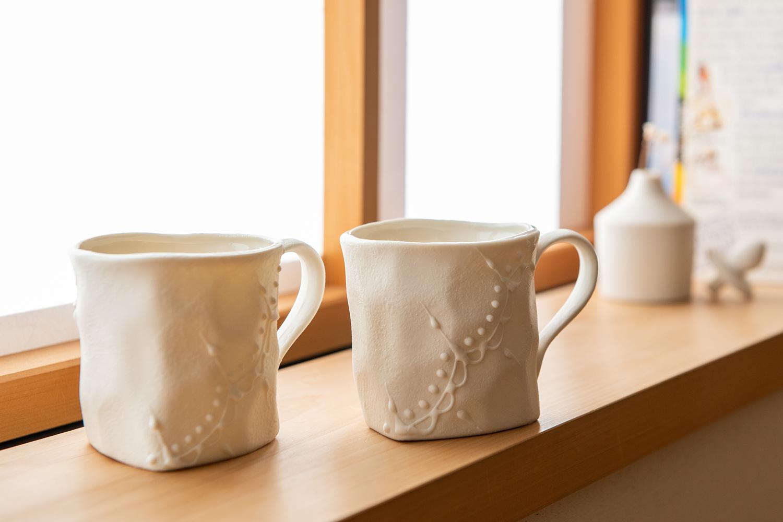 繊細だけど、使いやすい。海外での製作実績もある県内陶芸家がつくるマグカップ