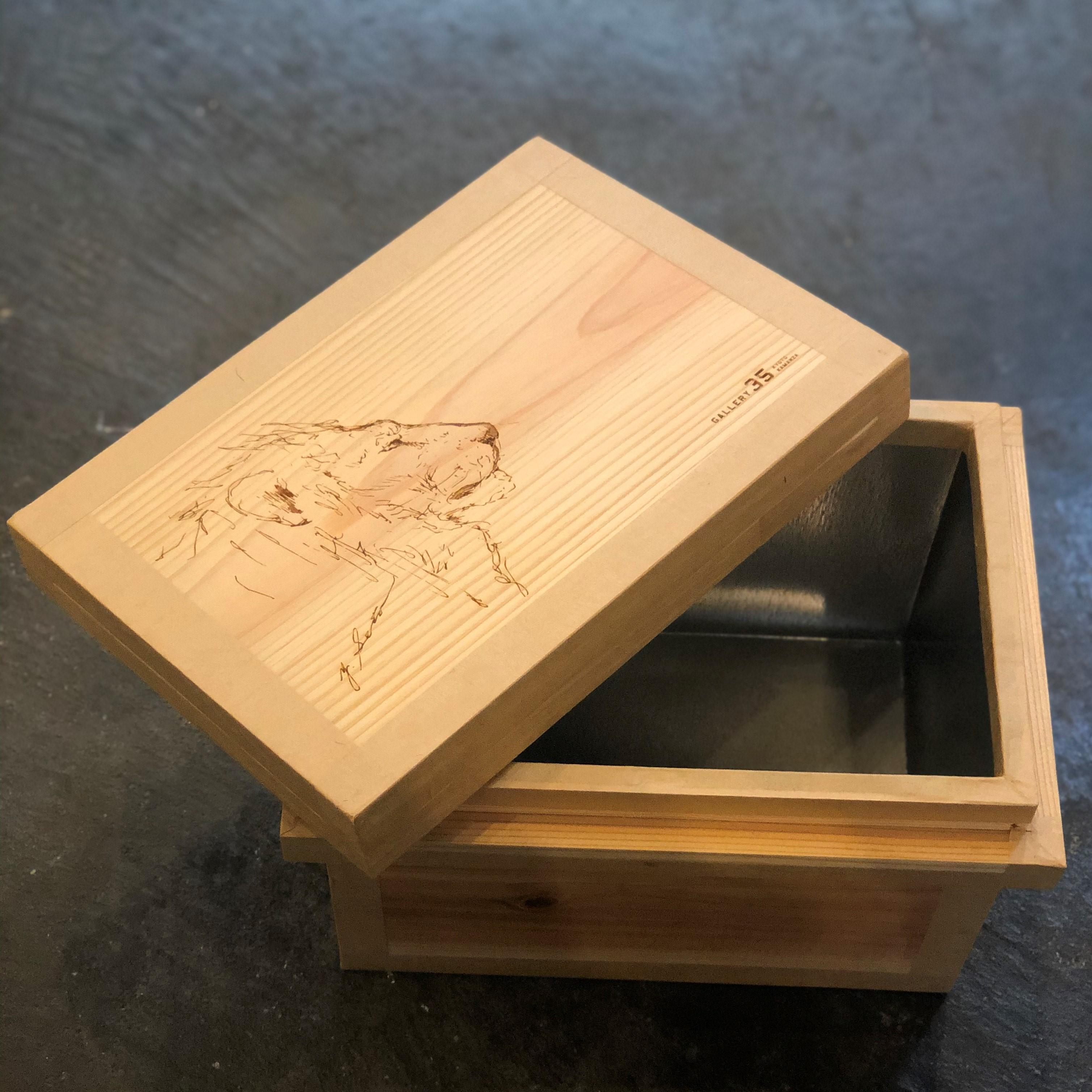ライフスタイルにアートを取り入れてみる Vol.1《彫刻家×茶箱》