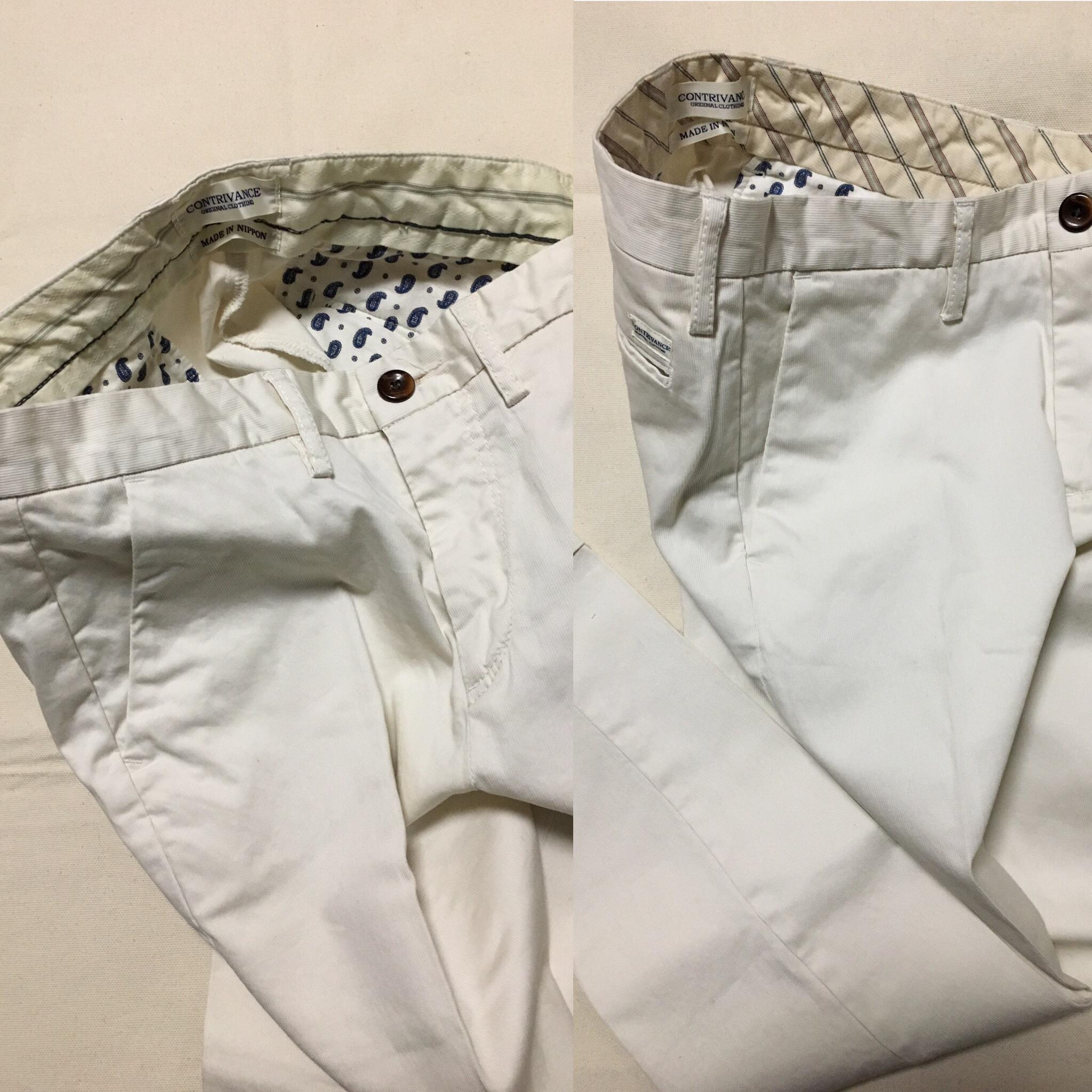 レディスパンツ 白の美しさにこだわる貴女の為に作った透けない白パンツ