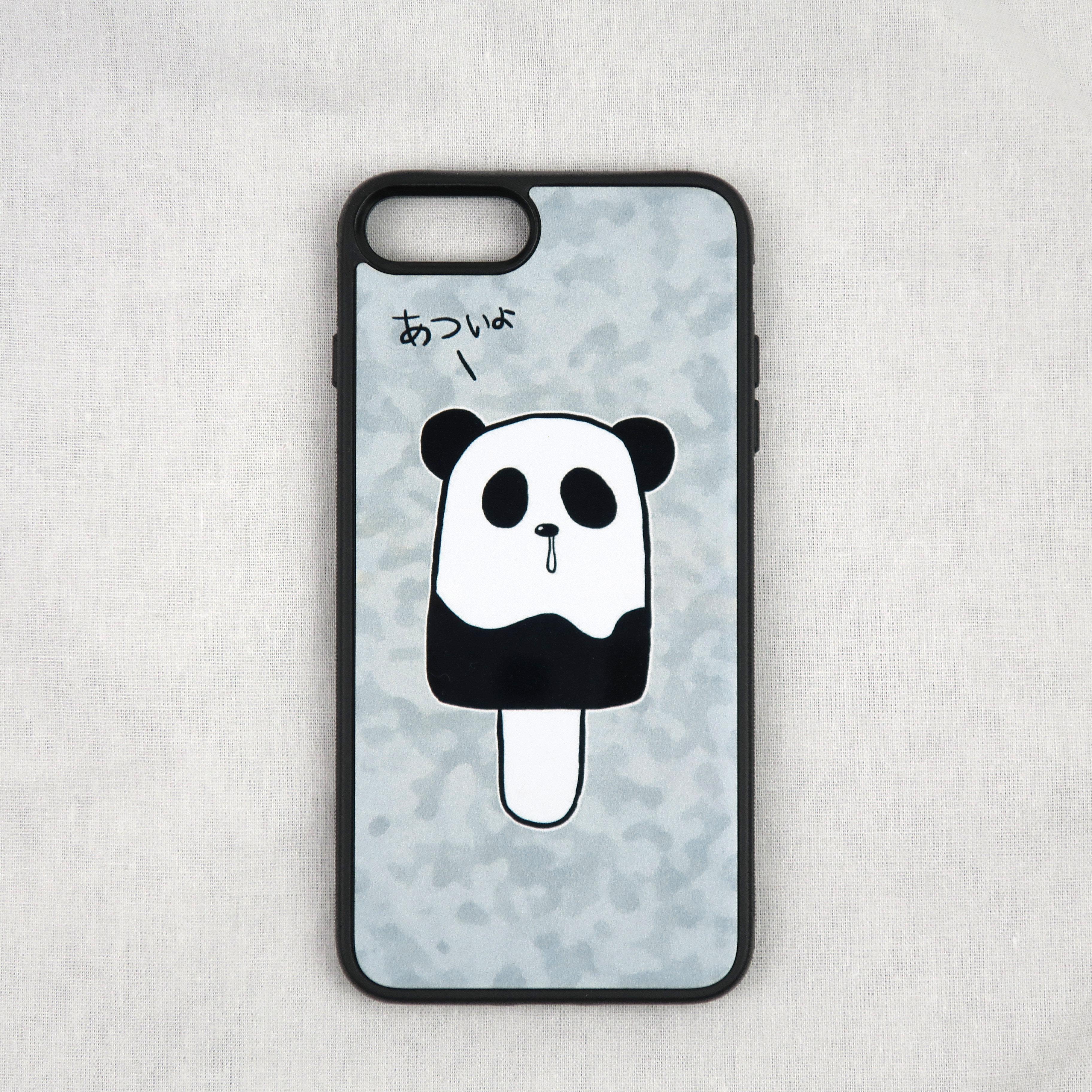パンダがアイスキャンデーに変身!「あついよ」のセリフも可愛い「パンダポップ」のiPhoneケース