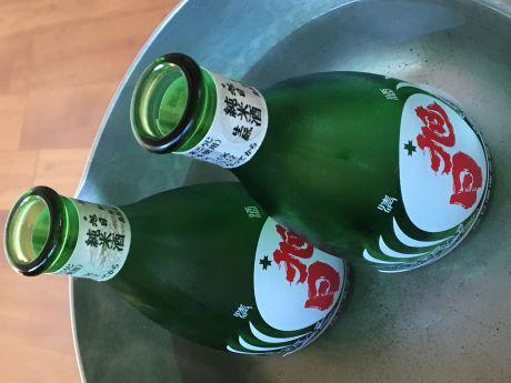 コロンと可愛い一合徳利瓶!お湯ポチャでそのままお燗できます!特約販売店数量限定の日本酒発売!