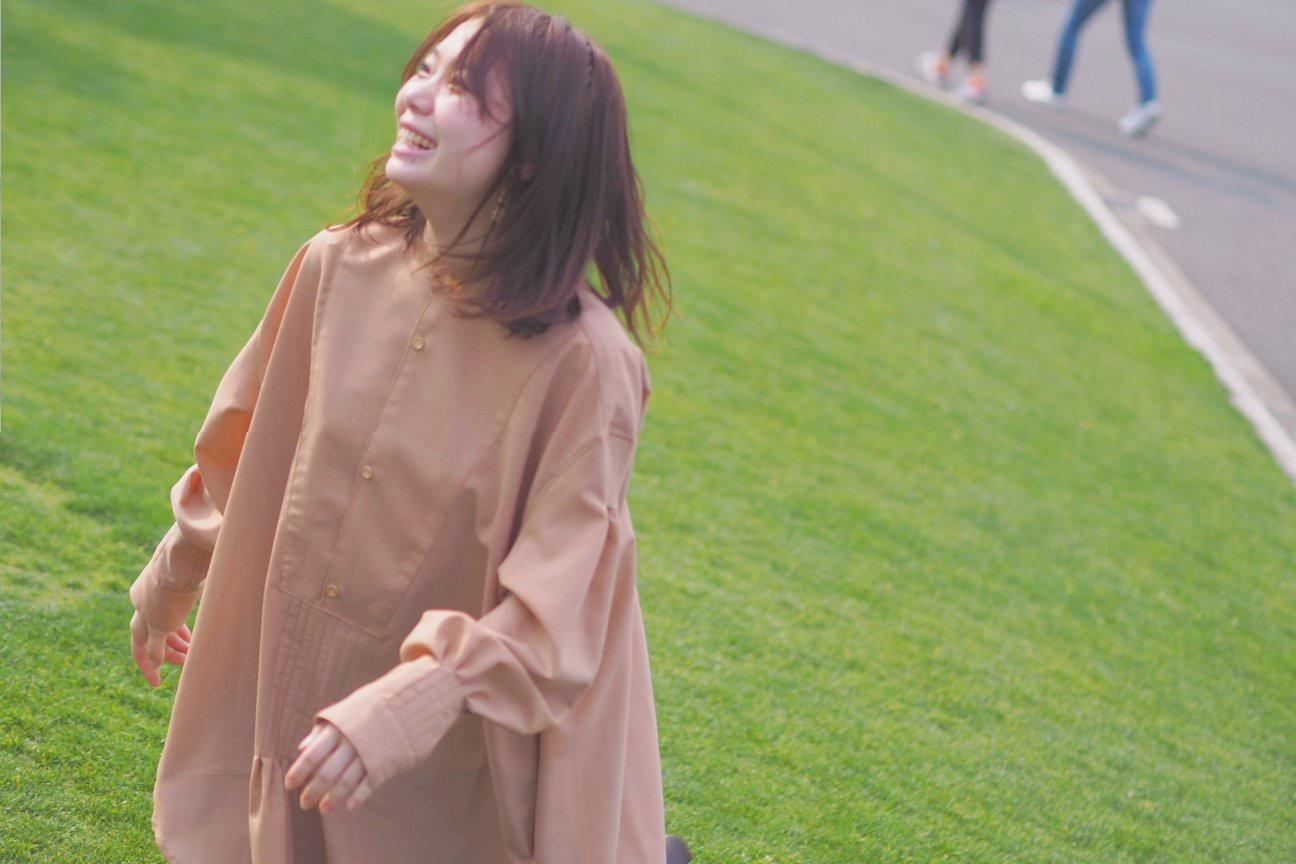 オリジナルシャツ『纏い』空気を 雰囲気を纏う服
