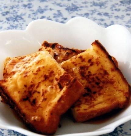 豆腐のフレンチトースト 1人分